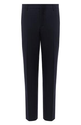 Мужские шерстяные брюки PRADA синего цвета, арт. UP0100-1W1T-F0124-202 | Фото 1