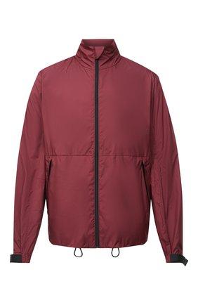 Мужская куртка PRADA бордового цвета, арт. SGN987-1S0G-F0399-191   Фото 1