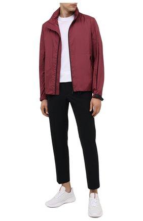 Мужская куртка PRADA бордового цвета, арт. SGN987-1S0G-F0399-191   Фото 2