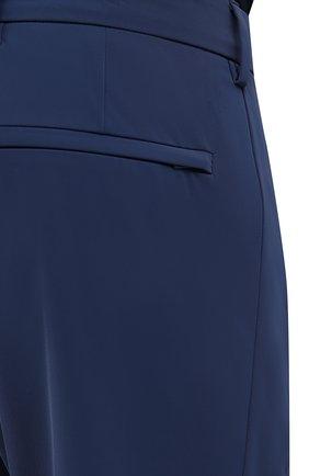 Мужские брюки PRADA синего цвета, арт. SPF94-1KJW-F0YNV-191   Фото 5 (Длина (брюки, джинсы): Стандартные; Случай: Повседневный; Материал внешний: Синтетический материал; Стили: Кэжуэл)