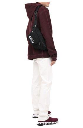Мужские текстильные кроссовки speed BALENCIAGA бордового цвета, арт. 605972/W05GE | Фото 2
