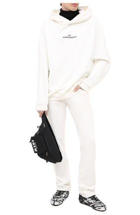 Мужские комбинированные кроссовки drive BALENCIAGA серого цвета, арт. 624343/W2FD1 | Фото 2