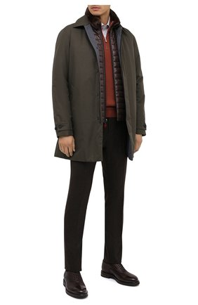 Мужские кожаные оксфорды H`D`S`N BARACCO темно-коричневого цвета, арт. 58303.1*   Фото 2