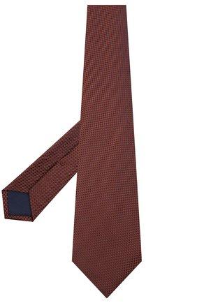 Мужской шелковый галстук CORNELIANI коричневого цвета, арт. 86U302-0820305/00 | Фото 2
