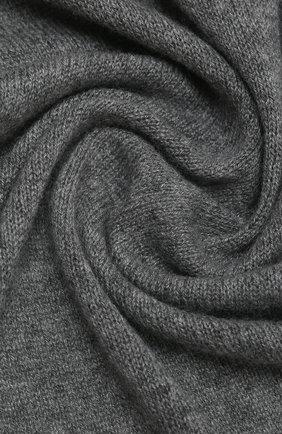 Мужской кашемировый шарф IL BORGO CASHMERE серого цвета, арт. 56-157G0 | Фото 2
