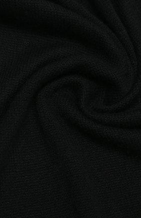Мужской кашемировый шарф IL BORGO CASHMERE черного цвета, арт. 56-157G0 | Фото 2