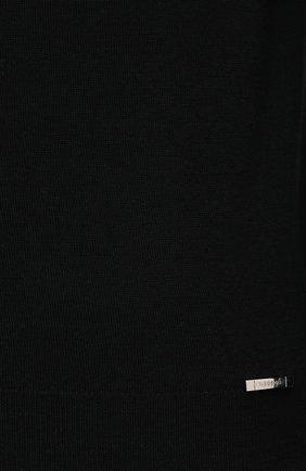 Мужской шерстяная водолазка IL BORGO CASHMERE черного цвета, арт. 54-1211G0 | Фото 5 (Материал внешний: Шерсть; Рукава: Длинные; Принт: Без принта; Длина (для топов): Стандартные; Стили: Классический; Мужское Кросс-КТ: Водолазка-одежда)