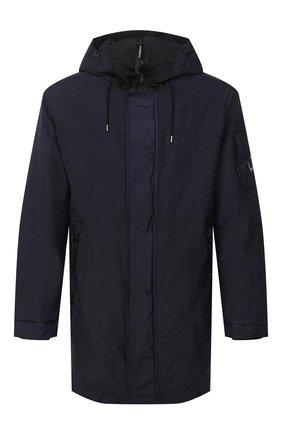 Мужская утепленная куртка C.P. COMPANY темно-синего цвета, арт. 09CM0W189A-005686G | Фото 1