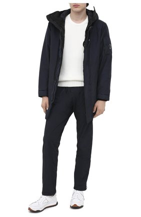Мужская утепленная куртка C.P. COMPANY темно-синего цвета, арт. 09CM0W189A-005686G | Фото 2