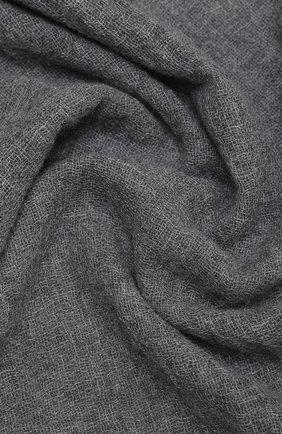 Мужской шарф из шерсти и шелка ALTEA серого цвета, арт. 2060123 | Фото 2