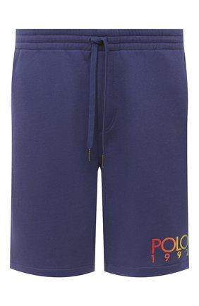 Мужские шорты POLO RALPH LAUREN синего цвета, арт. 710800161 | Фото 1