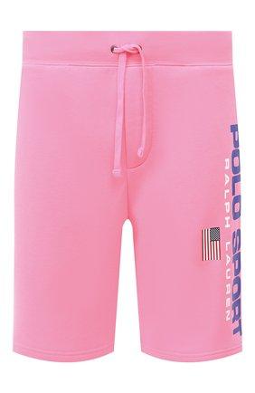Мужские шорты POLO RALPH LAUREN розового цвета, арт. 710800487 | Фото 1