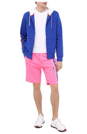 Мужские шорты POLO RALPH LAUREN розового цвета, арт. 710800487 | Фото 2