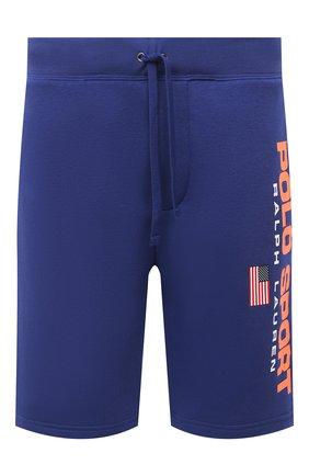 Мужские шорты POLO RALPH LAUREN синего цвета, арт. 710800487 | Фото 1