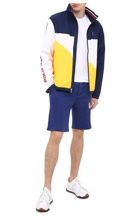 Мужские шорты POLO RALPH LAUREN синего цвета, арт. 710800487 | Фото 2