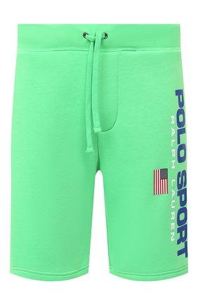 Мужские шорты POLO RALPH LAUREN зеленого цвета, арт. 710800487 | Фото 1