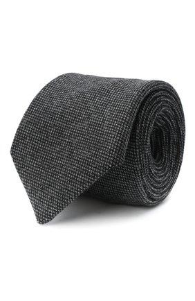 Мужской шерстяной галстук LUIGI BORRELLI серого цвета, арт. LC80-B/TT30133   Фото 1