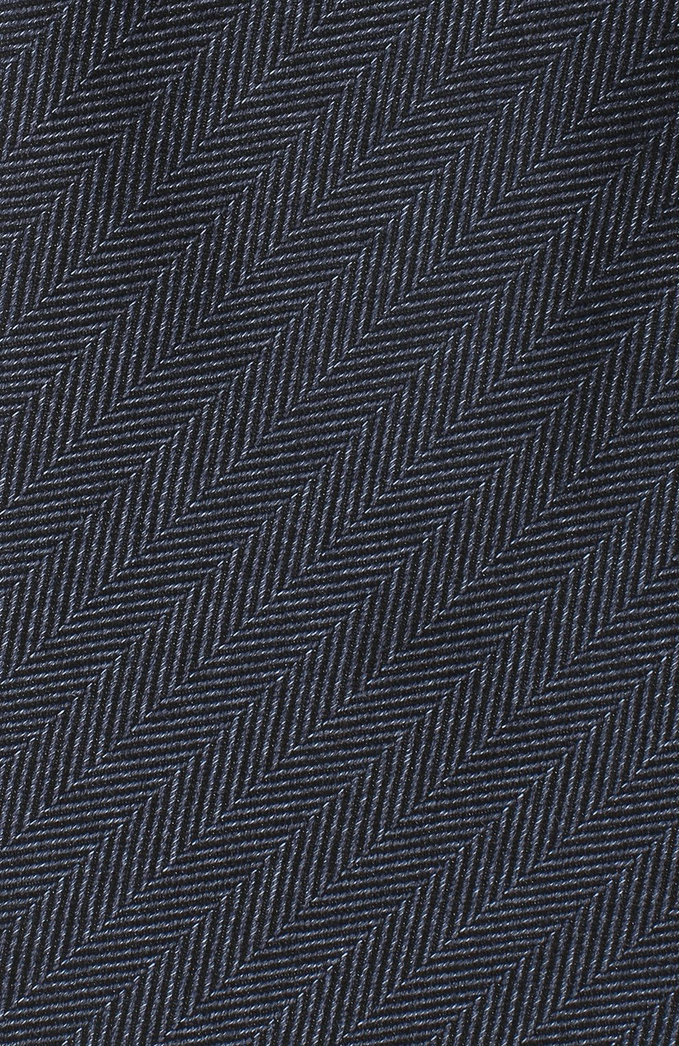 Мужской шелковый галстук ERMENEGILDO ZEGNA темно-синего цвета, арт. Z8D30/1UM | Фото 3