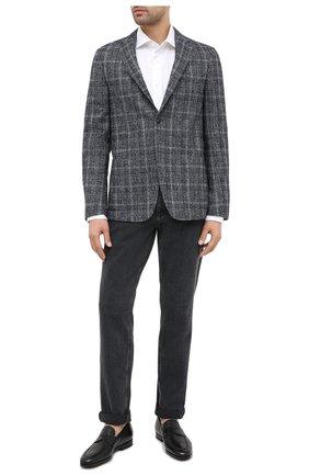 Мужской шерстяной пиджак Z ZEGNA серого цвета, арт. 850776/1D7SG0 | Фото 2