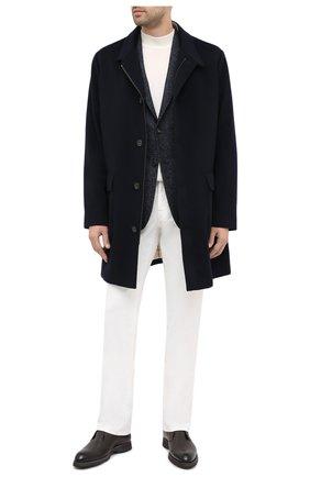 Мужской шерстяной пиджак Z ZEGNA темно-синего цвета, арт. 850732/1VRUG0 | Фото 2