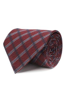 Мужской шелковый галстук ERMENEGILDO ZEGNA фиолетового цвета, арт. Z8D33/1UM | Фото 1