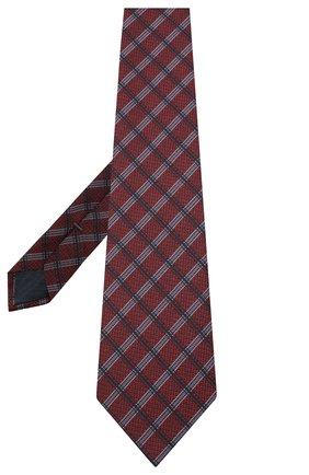 Мужской шелковый галстук ERMENEGILDO ZEGNA фиолетового цвета, арт. Z8D33/1UM | Фото 2