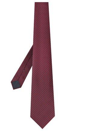 Мужской шелковый галстук ERMENEGILDO ZEGNA красного цвета, арт. Z8W09/1UM | Фото 2