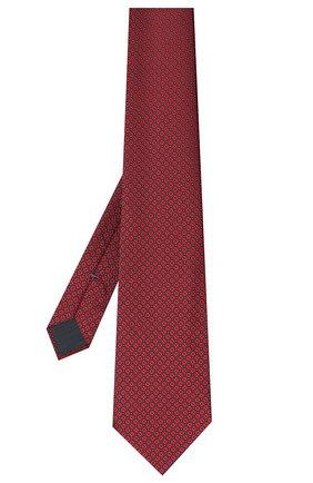 Мужской шелковый галстук ERMENEGILDO ZEGNA красного цвета, арт. Z8W03/1UM | Фото 2