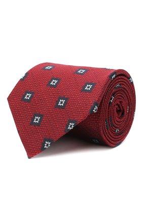 Мужской шелковый галстук ERMENEGILDO ZEGNA красного цвета, арт. Z8D93/1XW | Фото 1