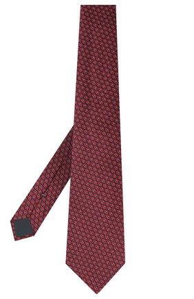 Мужской шелковый галстук ERMENEGILDO ZEGNA красного цвета, арт. Z8D93/1UM | Фото 2