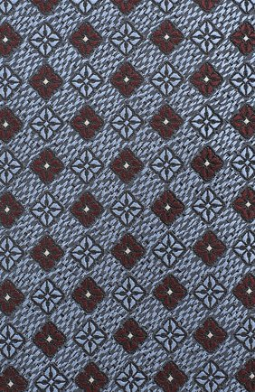 Мужской шелковый галстук ERMENEGILDO ZEGNA голубого цвета, арт. Z8D92/1UM   Фото 3
