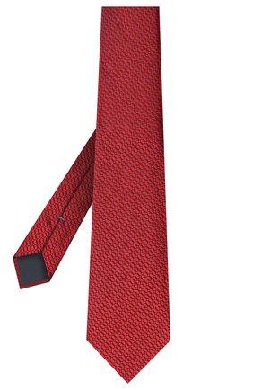 Мужской шелковый галстук ERMENEGILDO ZEGNA красного цвета, арт. Z8D84/1UM | Фото 2