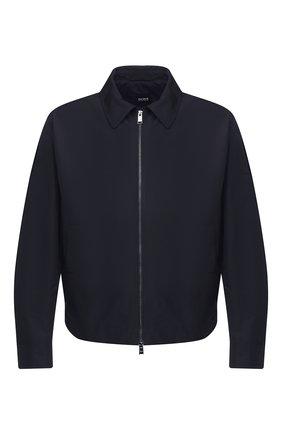 Мужская куртка BOSS темно-синего цвета, арт. 50437299   Фото 1