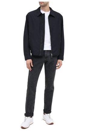 Мужская куртка BOSS темно-синего цвета, арт. 50437299   Фото 2