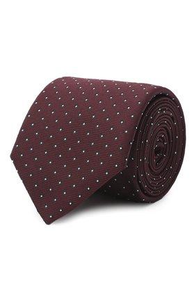 Мужской галстук BOSS бордового цвета, арт. 50442737 | Фото 1