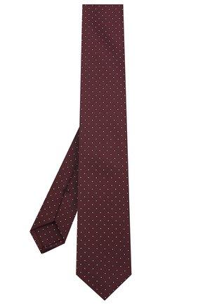 Мужской галстук BOSS бордового цвета, арт. 50442737 | Фото 2