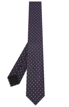 Мужской шелковый галстук BOSS сиреневого цвета, арт. 50441607 | Фото 2