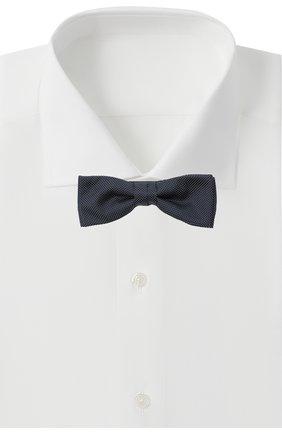 Мужской шелковый галстук-бабочка BOSS черного цвета, арт. 50442374 | Фото 2