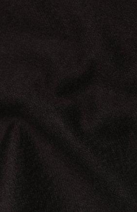 Мужской кашемировый шарф BOSS темно-коричневого цвета, арт. 50415017 | Фото 2