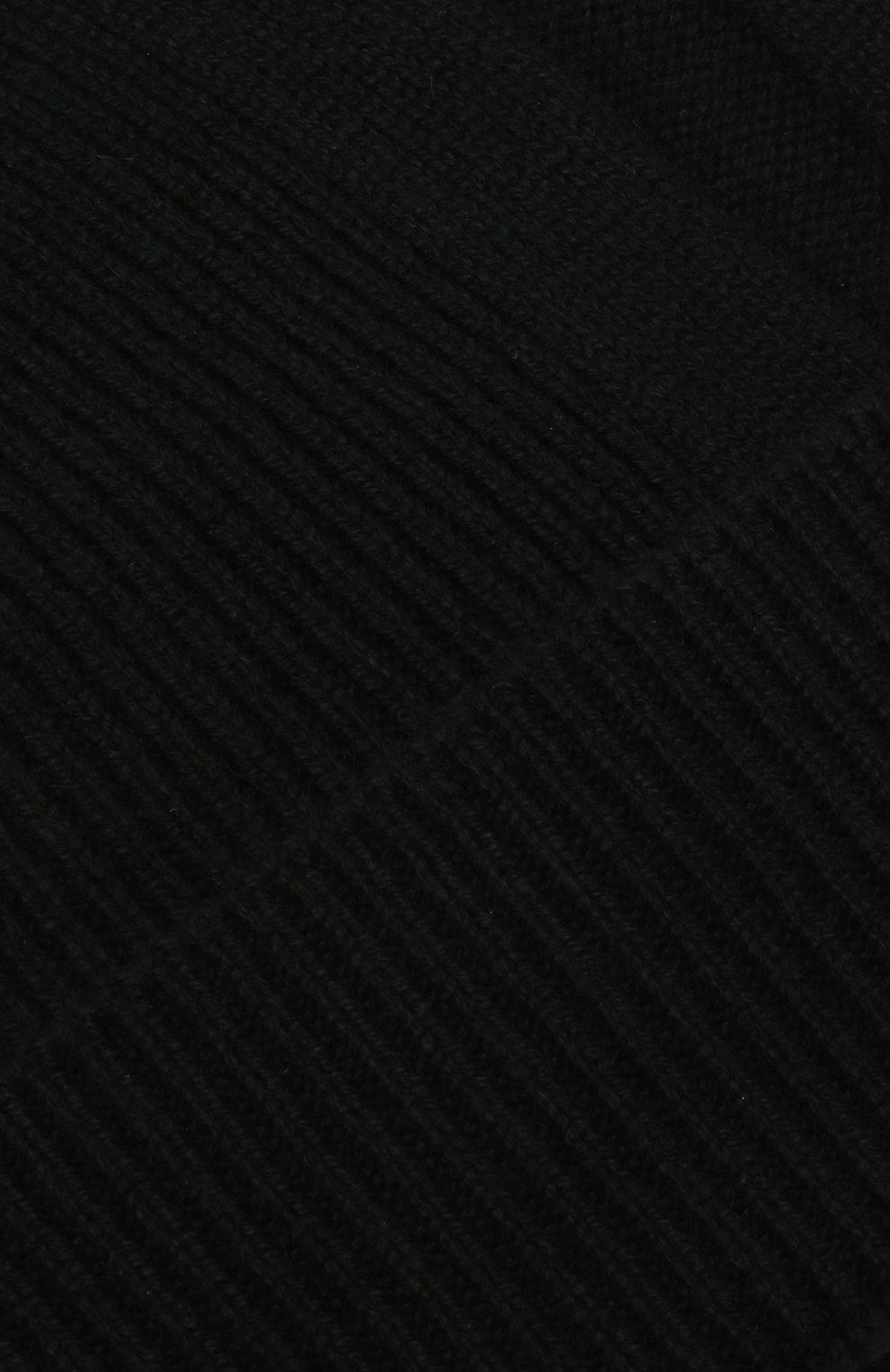 Мужская кашемировая шапка BOSS черного цвета, арт. 50439002 | Фото 3