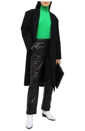 Женская водолазка TOM FORD зеленого цвета, арт. MAK1031-YAX283 | Фото 3