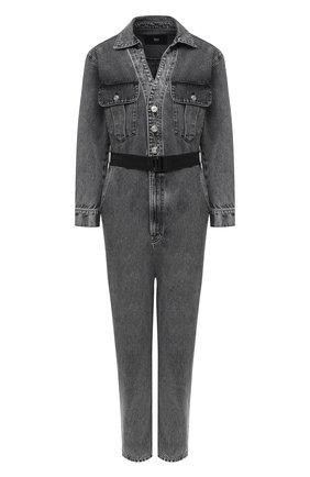 Женский джинсовый комбинезон 3X1 серого цвета, арт. WR0071082/ASHA | Фото 1