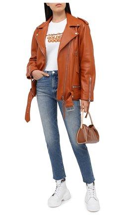 Женские джинсы 3X1 синего цвета, арт. WP0171079/EIZA | Фото 2
