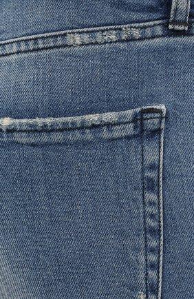 Женские джинсы 3X1 синего цвета, арт. W3SAC1079/EIZA   Фото 5 (Кросс-КТ: Деним; Длина (брюки, джинсы): Стандартные; Силуэт Ж (брюки и джинсы): Прямые; Материал внешний: Хлопок; Стили: Кэжуэл)