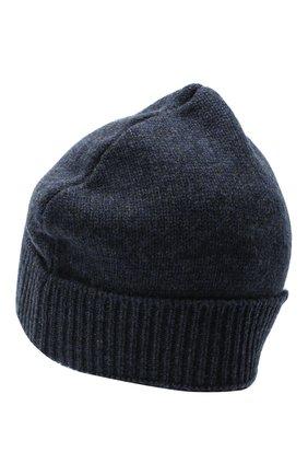 Женская шерстяная шапка MAISON MARGIELA темно-синего цвета, арт. S51TC0036/S17486   Фото 2