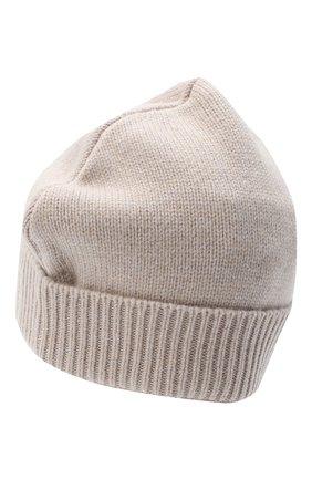 Женская шерстяная шапка MAISON MARGIELA серого цвета, арт. S51TC0036/S17486   Фото 2