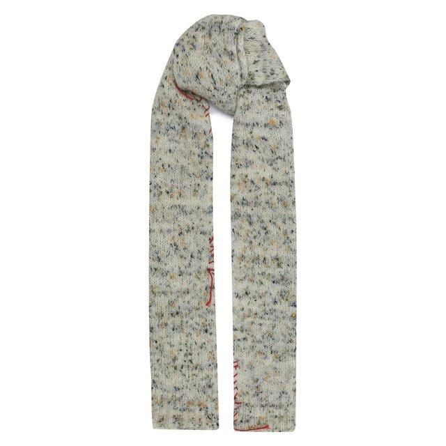 Шерстяной шарф Maison Margiela
