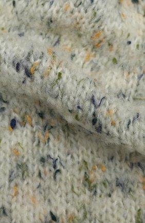 Женский шерстяной шарф MAISON MARGIELA серого цвета, арт. S51TE0088/S17472   Фото 2