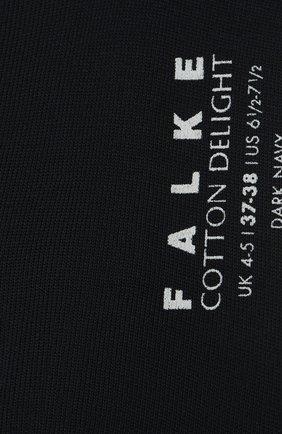 Женские носки delight FALKE темно-синего цвета, арт. 47555 | Фото 2