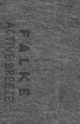 Женские носки active breeze FALKE серого цвета, арт. 46124   Фото 2